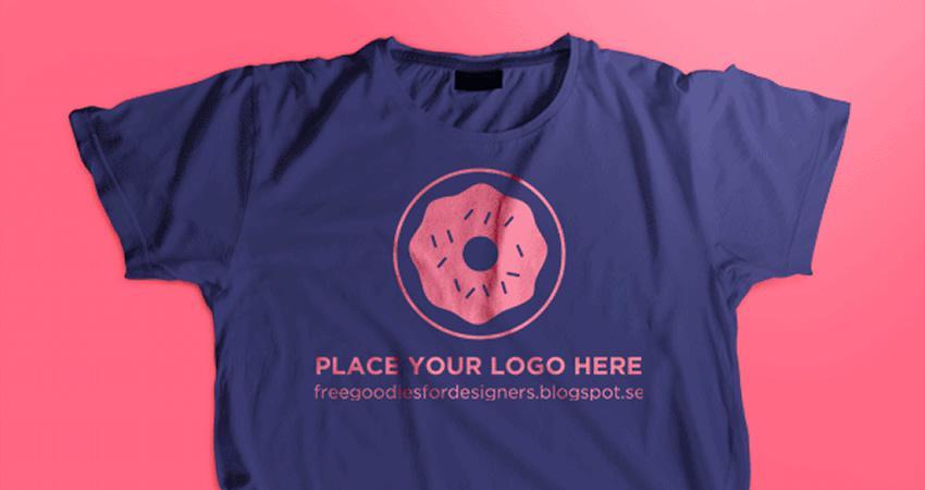 Plantilla de maqueta de camiseta PSD gratis Photoshop PSD