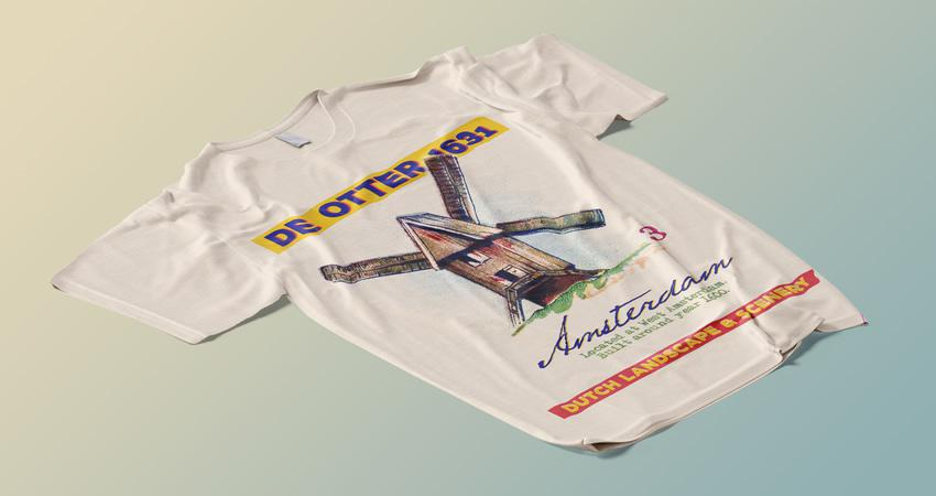 Plantilla de maqueta de camiseta de I am Creator gratis Photoshop PSD