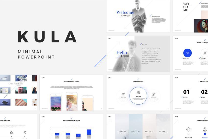 Plantilla gratuita de PowerPoint Kula