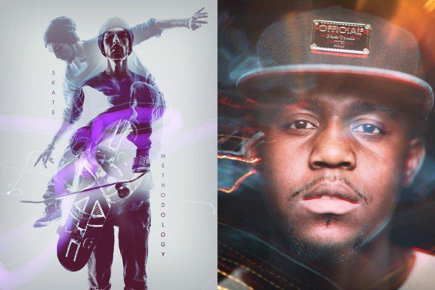 Acciones de Photoshop de doble exposición