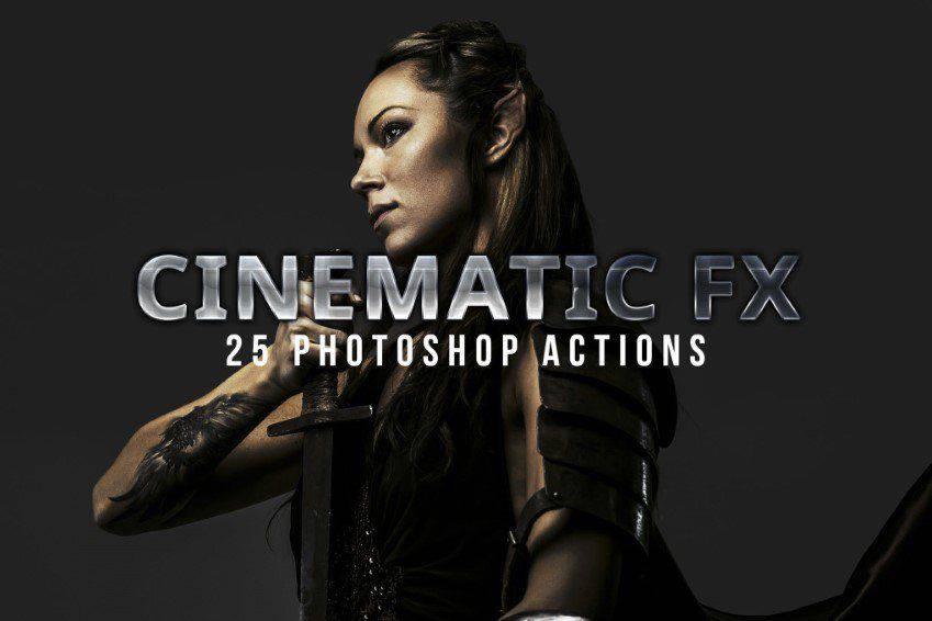 Acciones cinematográficas de Photoshop