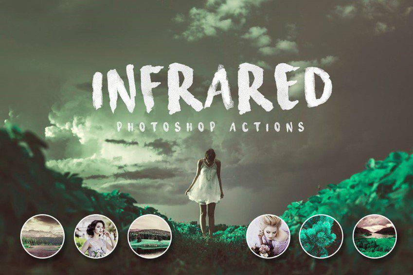 Acciones infrarrojas de Photoshop