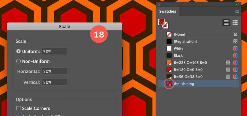 Cómo crear un patrón hexagonal tutorial de adobe illustrator
