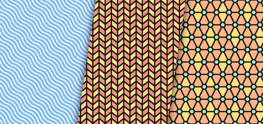Cómo crear patrones de línea en Illustrator adobe illustrator tutorial