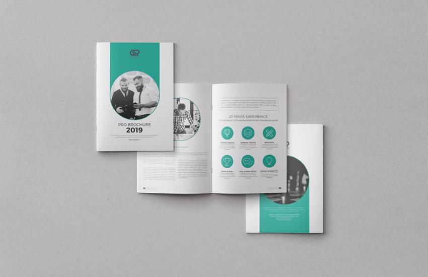 Formato de plantilla de negocio de folleto corporativo