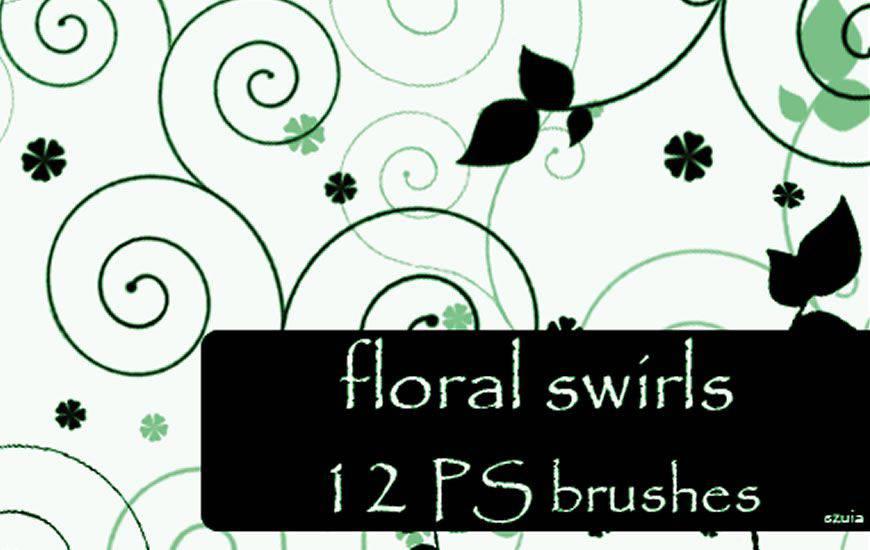 Pinceles florales para Photoshop