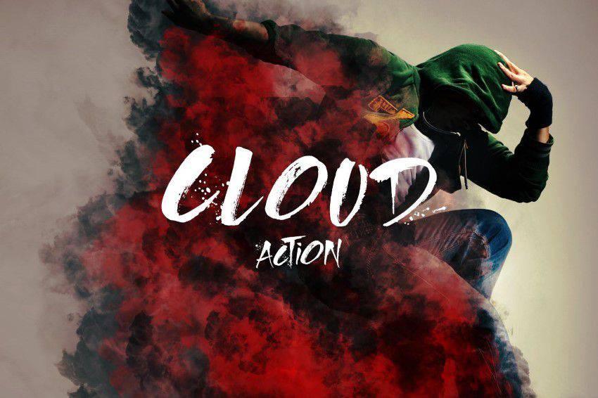 Acción de Photoshop en la nube