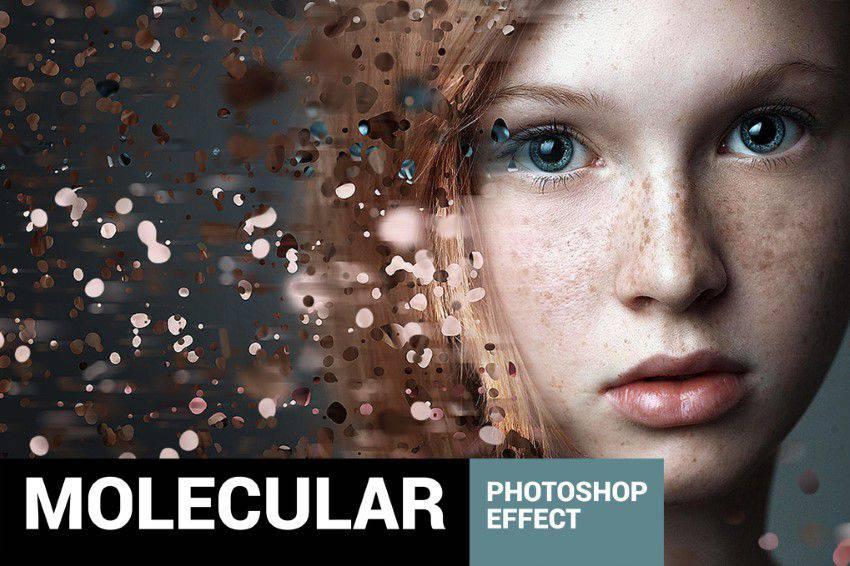 Moleculum - Acción corpuscular de Photoshop