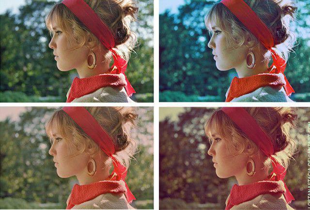 Photoshop Action Vintage Colors