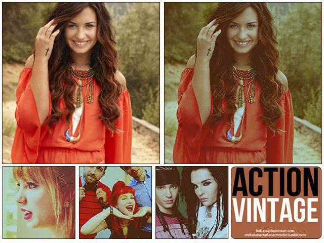 Acción Vintage