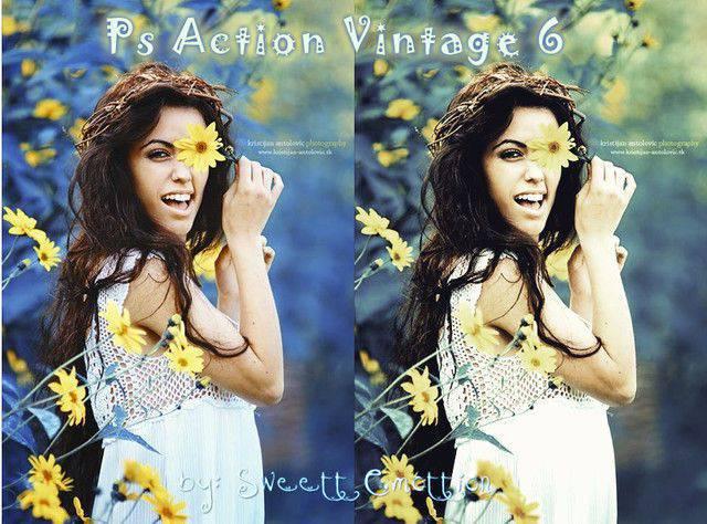 Ps Action Vintage 6 Photoshop