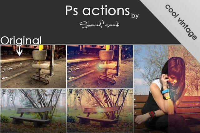 Acciones de Photoshop 7