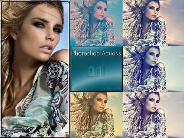 Paquete de acciones de Photoshop 1