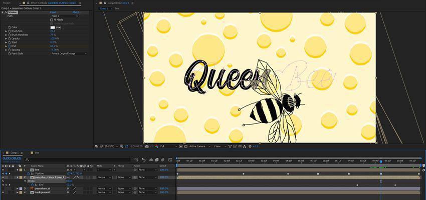 Cómo crear animaciones dibujadas a mano en After Effects