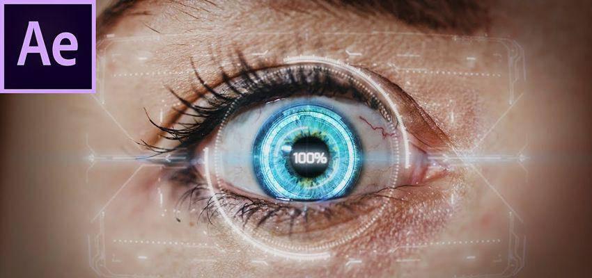 Cómo crear un efecto de ojos HUD