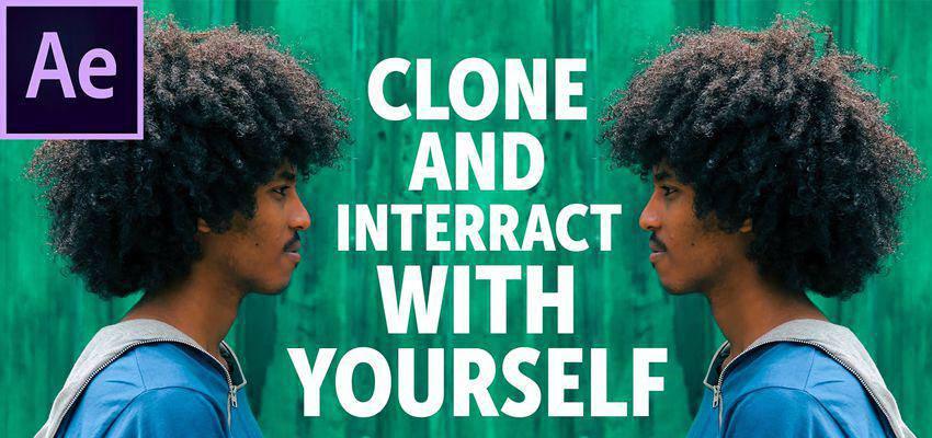 Cómo clonar e interactuar contigo mismo en After Effects