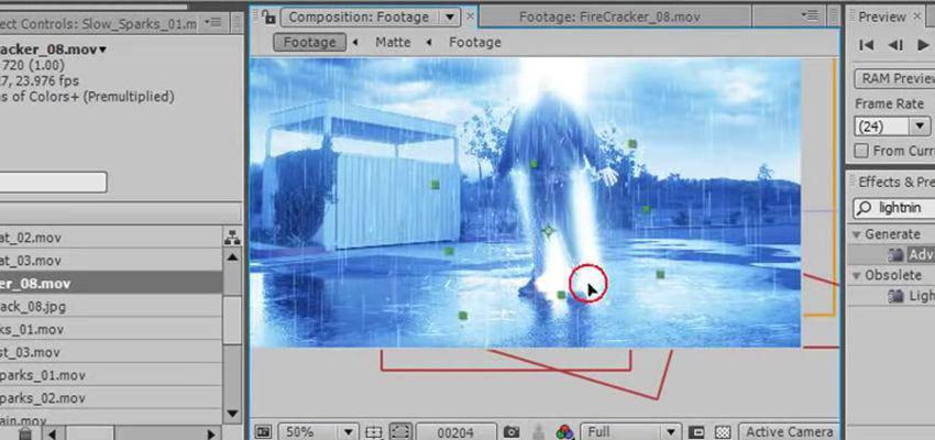 Cómo crear efectos meteorológicos en After Effects