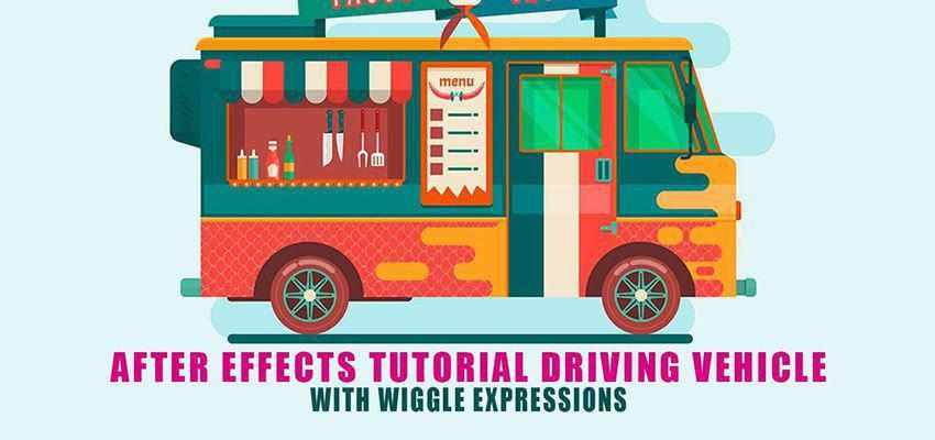 Cómo crear una furgoneta en movimiento con Wiggle Expressions
