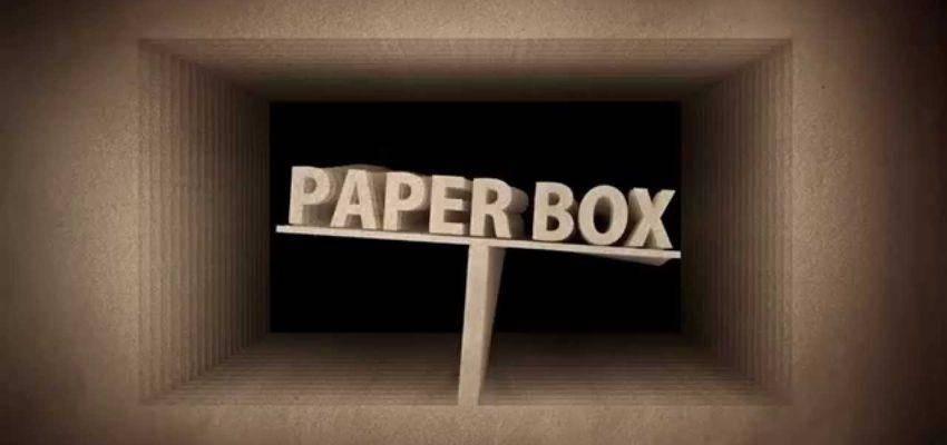 Cómo crear una introducción de caja de papel animada