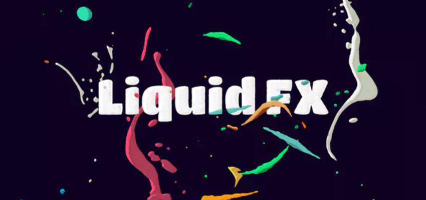 Paquete de animación Liquid FX