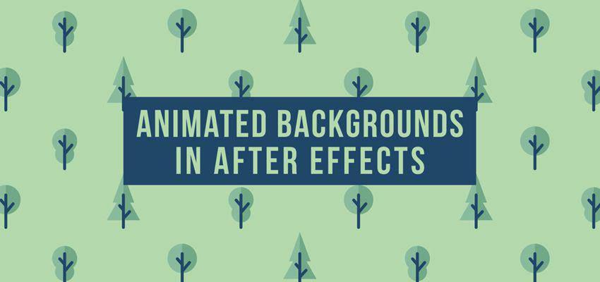 Cómo crear fondos animados en After Effects