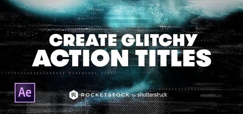 Cómo crear títulos de acción con efectos Glitch