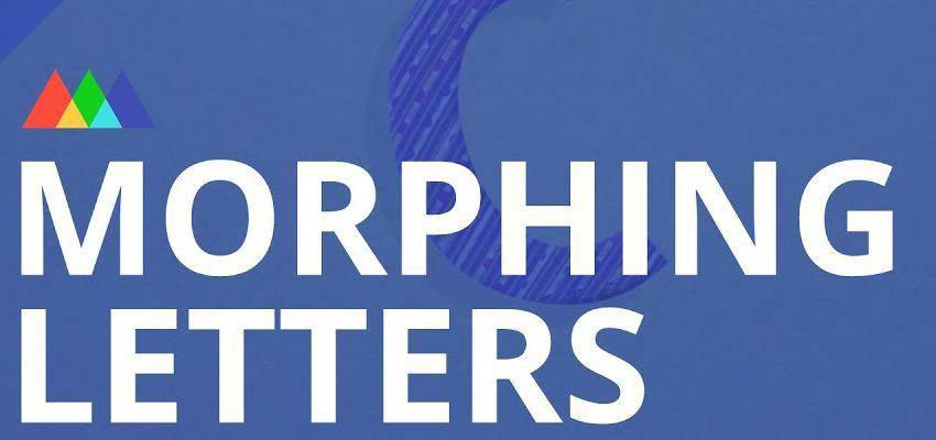 Cómo crear letras morphing en After Effects