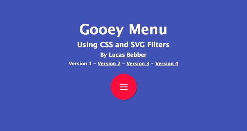 El tutorial de filtro SVG de efecto pegajoso