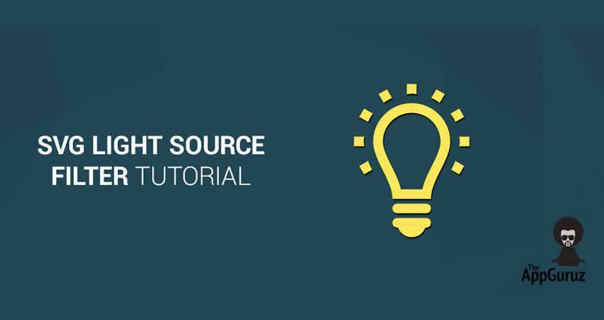 Tutorial de filtro de fuente de luz SVG Tutorial de filtro SVG