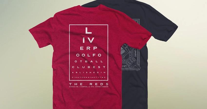Maqueta de camiseta doblada delantera trasera gratis Photoshop PSD