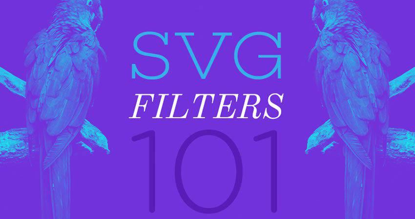 Tutorial de filtros SVG 101