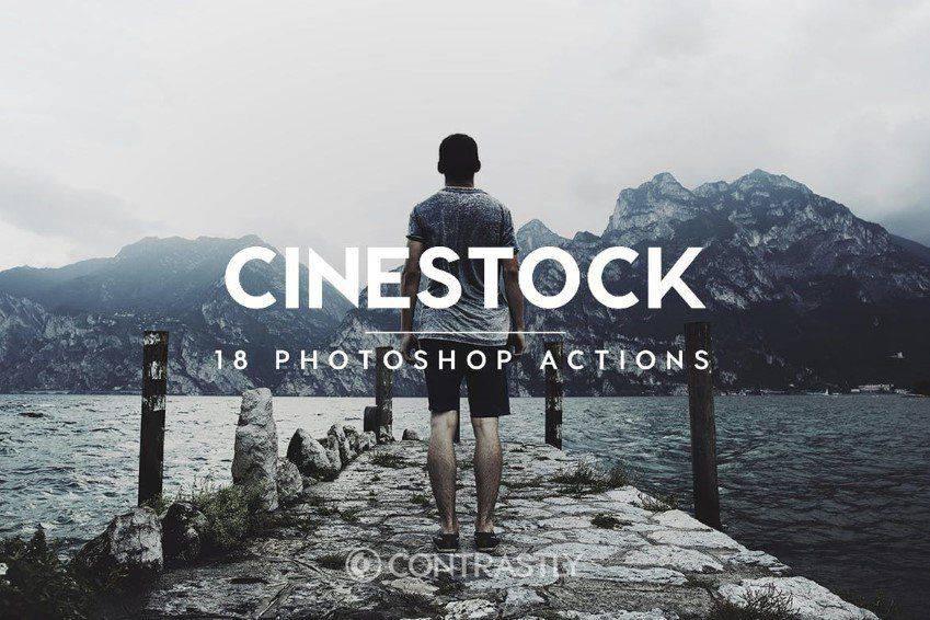 Acciones de Photoshop de CineStock