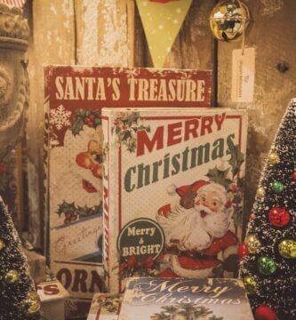 Tesoro de Santa y Feliz Navidad