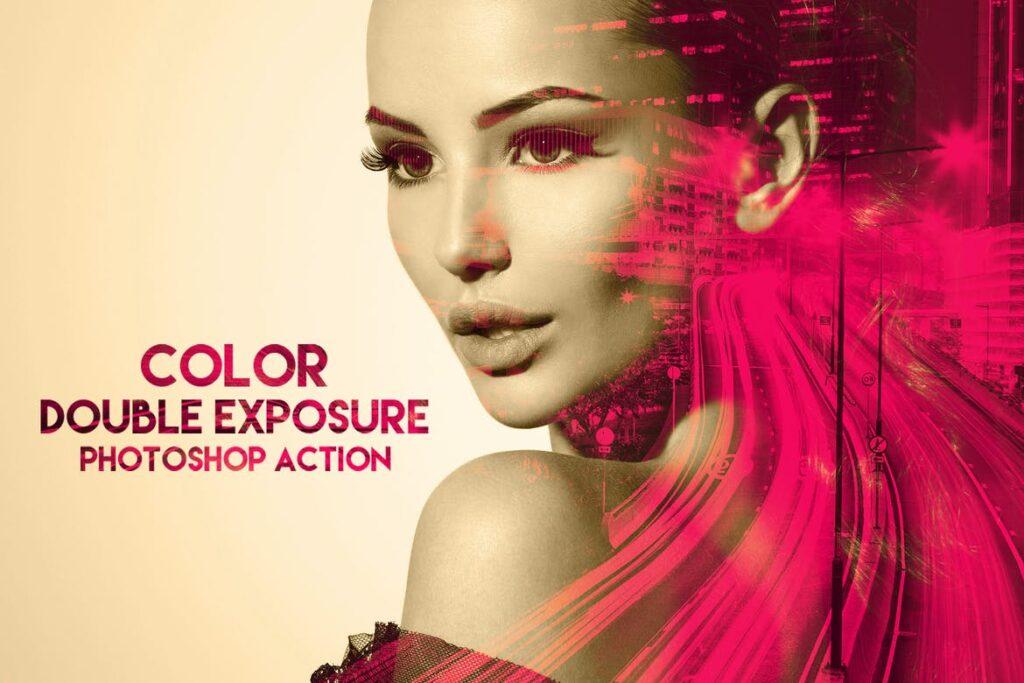 color doble exposicion
