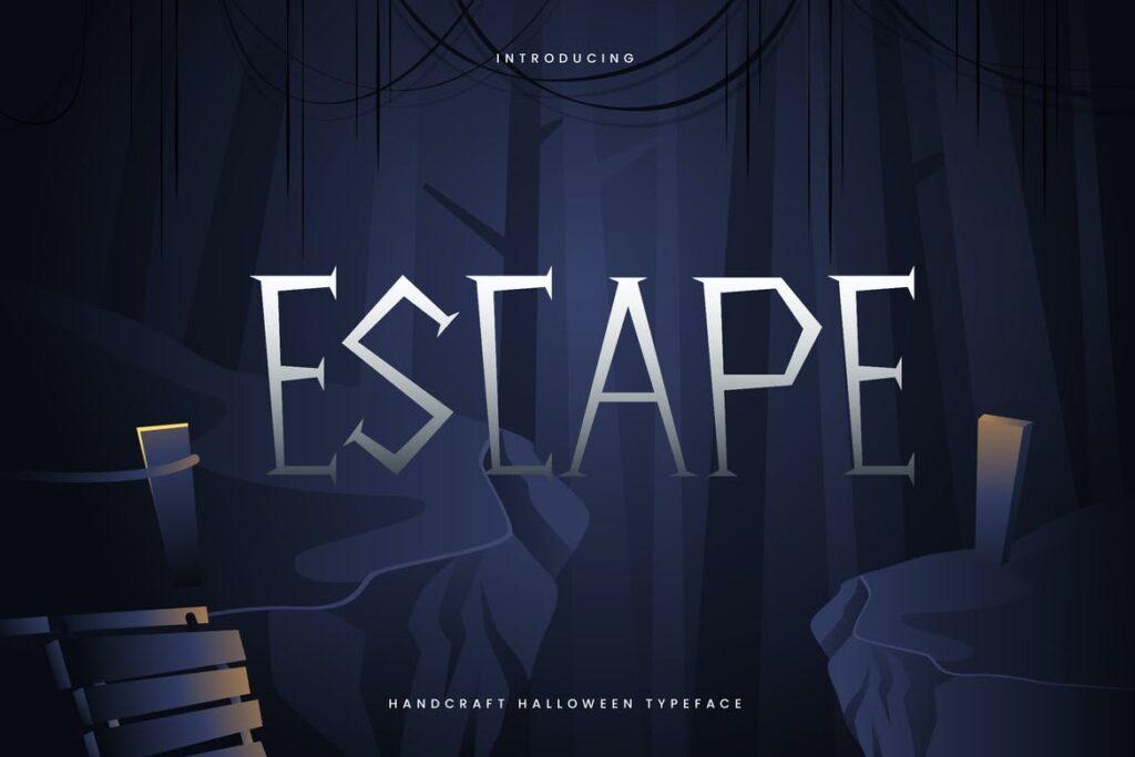 fuente escape disney