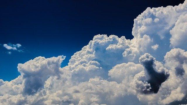 pinceles de nubes en photoshop
