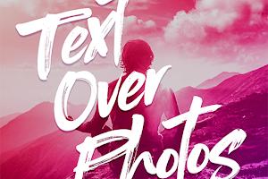 Descargar gratis Text Over Photos